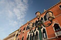 Heldere zonsopgang dichtbij Dogespaleis, Venetië royalty-vrije stock foto's