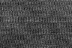 Heldere zwarte textuur van stof of textielproduct Stock Foto's