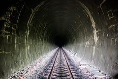 Helderheid aan het eind van de tunnel royalty-vrije stock afbeeldingen