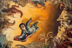 Heldhaftig Kadettengedenkteken in Chapultepec-Park Royalty-vrije Stock Afbeeldingen