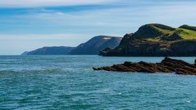 Hele Bay, near Ilfracombe, North Devon, England, UK stock photo