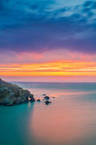 Hele bay After sunset Stock Photography