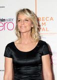 Helen Hunt. Actress Helen Hunt arrives on the red carpet for the premiere of Every Day at the 9th Tribeca Film Festival in New York City on April 24, 2010 stock photography