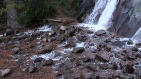 Helen Hunt Falls in Colorado stock footage