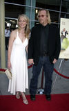 Helen Hunt and Matthew Carnahan royalty free stock images