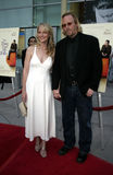 Helen Hunt and Matthew Carnahan royalty free stock photos