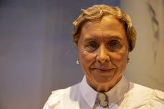 Helen Keller dans Madame Tussauds de New York photos libres de droits