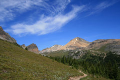 Helen Lake Hiking Trail Royalty Free Stock Images