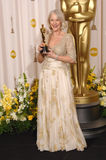Helen Mirren,Queen. Helen Mirren - Best Actress winner for The Queen - at the 79th Annual Academy Awards at the Kodak Theatre, Hollywood. February 26, 2007  Los Stock Image