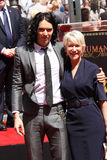 Helen Mirren,Russell Brand Royalty Free Stock Photo