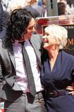 Helen Mirren,Russell Brand Royalty Free Stock Photography