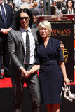 Helen Mirren, Russell Brand Royalty Free Stock Photography