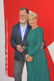 Helen Mirren & Taylor Hackford Royalty Free Stock Photo