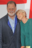 Helen Mirren & Taylor Hackford Royalty Free Stock Photos