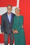 Helen Mirren & Taylor Hackford Royalty Free Stock Photos