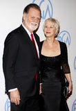 Helen Mirren and Taylor Hackford Royalty Free Stock Photo