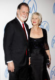 Helen Mirren and Taylor Hackford Royalty Free Stock Photography