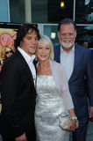 Helen Mirren,Taylor Hackford,Sergio Peris-Mencheta Royalty Free Stock Photo