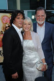 Helen Mirren, Taylor Hackford, Sergio Peris-Mencheta Stock Photos