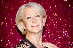 Helen Mirren wax figure Stock Images