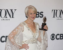 Helen Mirren Wins em 69th Tony Awards anual em 2015 Fotografia de Stock Royalty Free
