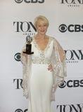 Helen Mirren Wins in 69ste Jaarlijks Tony Awards in 2015 Stock Foto's