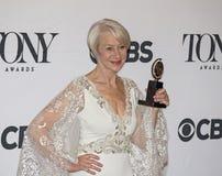 Helen Mirren Wins in 69ste Jaarlijks Tony Awards in 2015 Royalty-vrije Stock Fotografie