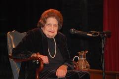 Helen Thomas Ann Arbor Visit - full shot Stock Images