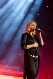 Helene Fischer in concert. Helene Fischer performance her new songs in Schwebisch Gmuend royalty free stock photo