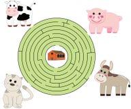 Helfen Sie den Tieren Lizenzfreies Stockbild