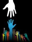 Helfende Hände Lizenzfreies Stockbild