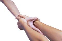Helfende Hände Lizenzfreies Stockfoto