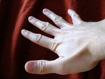 Helfende Hand Stockbilder