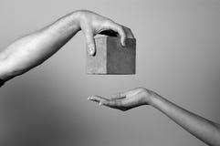 Helfende Hand Stockfotos