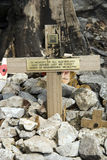 Helfire Pass memorial Stock Images