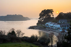 Helford Passage Cornwall Royalty Free Stock Photos