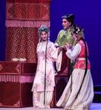 """Helft-afkerig ben en helft-toe:stemmen-Kunqu het Opera """"the Westen Chamber† Stock Afbeeldingen"""