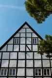 Helft-betimmerd Huis in Quedlinburg Duitsland Royalty-vrije Stock Foto