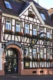 Helft-betimmerde gebouwen in Duitsland Royalty-vrije Stock Foto's