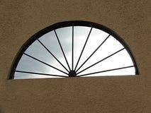 Helft-cirkel venster Royalty-vrije Stock Fotografie