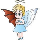 Helft-engel Stock Fotografie