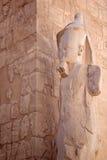 Helft-geruïneerd standbeeld Stock Afbeelding