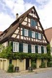 Helft-hout huis Royalty-vrije Stock Foto's