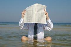 Helft-vakantie Stock Foto