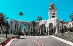 Helg till och med den Kalifornien kusten - Los Angeles arkivfoto