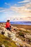 Helgafell berg Arkivfoton