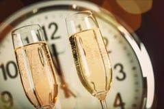 Helgdagsafton för ` s för nytt år royaltyfri foto