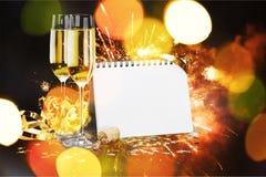 Helgdagsafton för ` s för nytt år royaltyfri bild