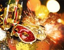 Helgdagsafton för ` s för nytt år royaltyfria bilder