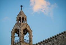 Helgedom av holies av kristendomen kyrklig nativity fotografering för bildbyråer